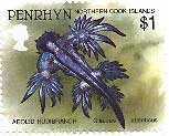 A Penrhyn stamp with fish